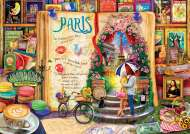 Paris (Life is an Open Book) (HOL098873), a 1000 piece Holdson jigsaw puzzle.