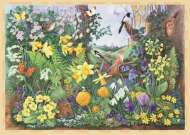 Spring Hedgerow (Large Pieces) (JUM11137), a 200 piece Jumbo jigsaw puzzle.