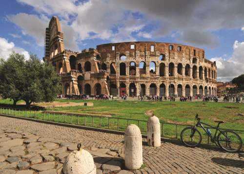 Colosseum, Rome (JUM18551), a 1000 piece jigsaw puzzle by Jumbo. Click to view larger image.