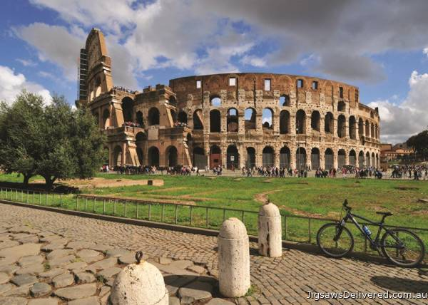 Colosseum, Rome (JUM18551), a 1000 piece jigsaw puzzle by Jumbo.