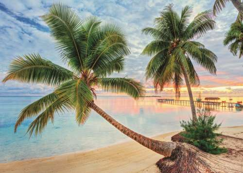 French Polynesia (JUM18363), a 1000 piece jigsaw puzzle by Jumbo. Click to view larger image.