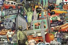 Best of New York (JUM18376), a 1500 piece Jumbo jigsaw puzzle.