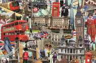 Best of London (JUM18366), a 1500 piece jigsaw puzzle by Jumbo. Click to view this jigsaw puzzle.