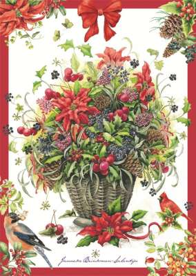 Winter Bouquet (JUM18369), a 500 piece jigsaw puzzle by Jumbo. Click to view larger image.