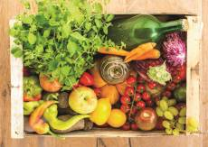 Fruit and Vegetable Box (JUM18531), a 500 piece jigsaw puzzle by Jumbo. Click to view this jigsaw puzzle.