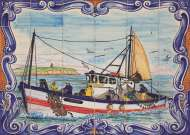 Portuguese Tiles of Ferragudo (JUM18542), a 1000 piece jigsaw puzzle by Jumbo. Click to view this jigsaw puzzle.