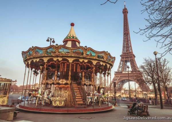 Paris, France (JUM18547), a 1000 piece jigsaw puzzle by Jumbo.