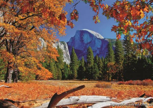 Yosemite National Park, USA (JUM18554), a 500 piece jigsaw puzzle by Jumbo.