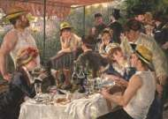 Luncheon of The Boating Party (JUM18566), a 1000 piece jigsaw puzzle by Jumbo and artist Pierre-Auguste Renoir. Click to view this jigsaw puzzle.