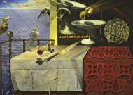 Still Life (JUM18565), a 1000 piece jigsaw puzzle by Jumbo and artist Salvador Dali. Click to view this jigsaw puzzle.