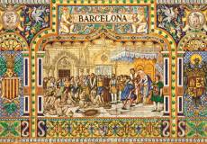 Tiles of Barcelona. Click to view this product