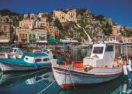 Symi, Greece (JUM18543), a 1000 piece jigsaw puzzle by Jumbo. Click to view this jigsaw puzzle.