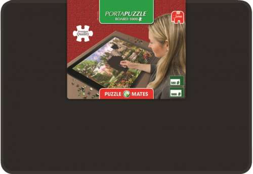 Portapuzzle Board 1000 (JUM17957), a 1000 piece jigsaw puzzle by Jumbo. Click to view larger image.