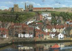 Whitby Harbour. Click to view this product