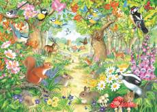 A Woodland Trail. Click to view this product