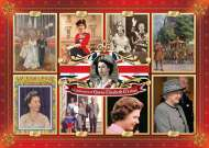 Queen Elizabeth II's Reign (JUM11085), a 1000 piece jigsaw puzzle by Jumbo. Click to view this jigsaw puzzle.