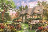 Sunny Cottage (JUM18367), a 1500 piece jigsaw puzzle by Jumbo. Click to view this jigsaw puzzle.