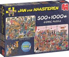 Let's Party (Twin pack 1000pc and 500pc) (JUM19058), a 1000 piece Jumbo jigsaw puzzle.