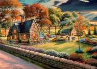 Gardener's Glory (A Safe Haven) (HOL098507), a 1000 piece jigsaw puzzle by Holdson and artist Patrick J Costello. Click to view this jigsaw puzzle.
