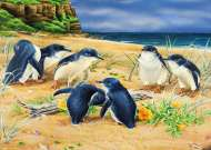 Penguin Parade (Wild Wings) (HOL098606), a 1000 piece jigsaw puzzle by Holdson and artist Natalie Jane Parker. Click to view this jigsaw puzzle.
