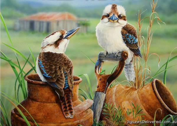 Countrysiders (Wild Wings) (HOL098613), a 1000 piece jigsaw puzzle by Holdson.