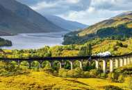 Glenfinnan Viaduct, Scotland (EDU16749), a 1000 piece Educa jigsaw puzzle.
