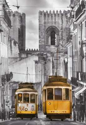 The Alfama District, Lisbon, Portugal (EDU16311), a 1500 piece jigsaw puzzle by Educa. Click to view larger image.