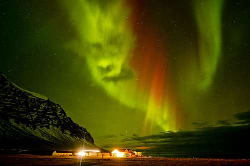 Angry Aurora, Iceland (CAA107805), a 1000 piece jigsaw puzzle by Crown and Andrews. Click to view larger image.