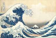 The Great Wave (CLE 39378), a 1000 piece jigsaw puzzle by Clementoni. Click to view this jigsaw puzzle.