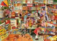 The Toy Shop (Times Past) (HOL098484), a 1000 piece jigsaw puzzle by Holdson and artist Steve Crisp. Click to view this jigsaw puzzle.