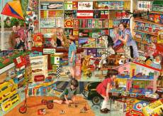 The Toy Shop (Times Past) (HOL098484), a 1000 piece Holdson jigsaw puzzle.