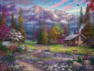 Inspiration of the Spring Meadows (CAA3001), a 1000 piece jigsaw puzzle by Crown and Andrews and artist Chuck Pinson. Click to view this jigsaw puzzle.