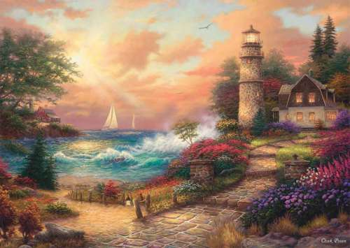 Seaside Dreams (CAA3002), a 1000 piece jigsaw puzzle by Crown and Andrews. Click to view larger image.