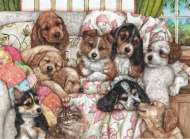 Puppies (ANA3162), a 1000 piece jigsaw puzzle by Anatolian. Click to view this jigsaw puzzle.