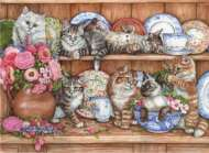 Kittens (ANA3158), a 1000 piece jigsaw puzzle by Anatolian. Click to view this jigsaw puzzle.