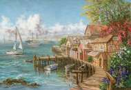 Mariner's Haven (ANA3300), a 260 piece Anatolian jigsaw puzzle.