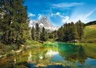 Blue Lake (CLE 31680), a 1500 piece jigsaw puzzle by Clementoni. Click to view this jigsaw puzzle.