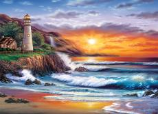 Lighthouse Sunset. Click to view this product