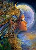 Diana (ANA3545), a 500 piece jigsaw puzzle by Anatolian and artist Josephine Wall. Click to view this jigsaw puzzle.