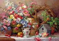 Garden Medley (ANA4502), a 1500 piece jigsaw puzzle by Anatolian. Click to view this jigsaw puzzle.