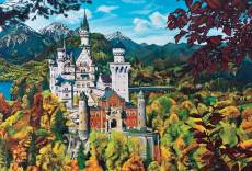 Neuschwanstein Castle (COB50707), a 2000 piece Cobble Hill jigsaw puzzle.