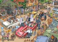 Paying the Price (Destiny Wasgij 17) (HOL98927), a 1000 piece Holdson jigsaw puzzle.
