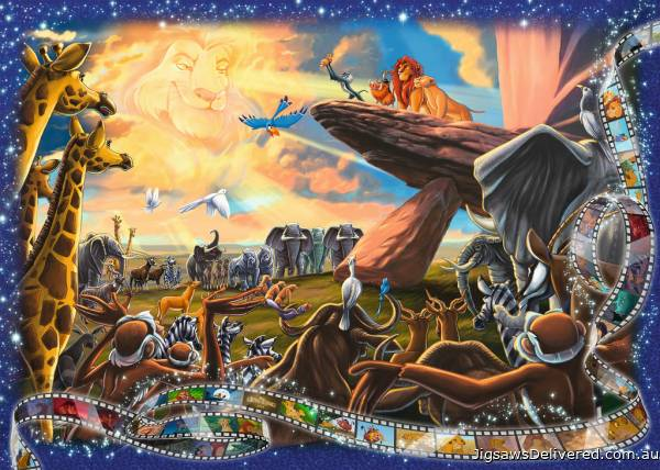 Disney The Lion King (RB19747-7), a 1000 piece jigsaw puzzle by Ravensburger.
