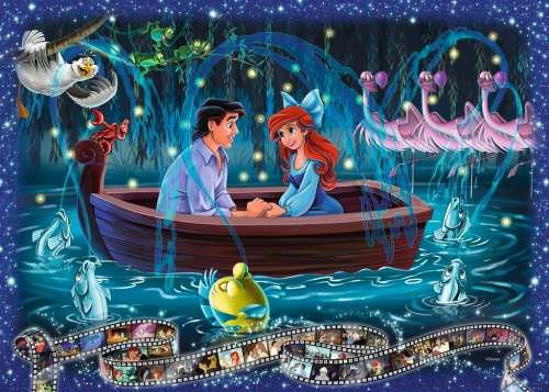 Disney Ariel, The Little Mermaid (RB19745-3), a 1000 piece jigsaw puzzle by Ravensburger. Click to view larger image.