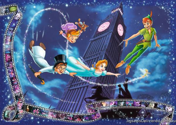 Disney Peter Pan (RB19743-9), a 1000 piece jigsaw puzzle by Ravensburger.