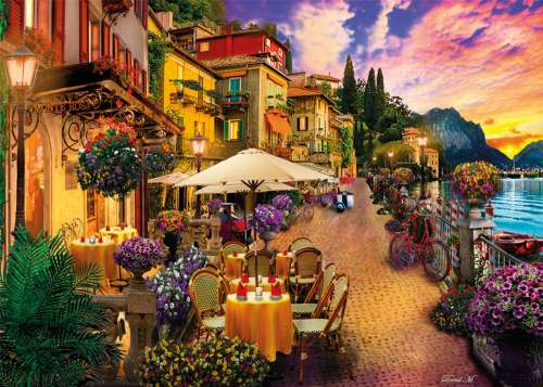 Monte Rosa Dreaming (CLE 35041), a 500 piece jigsaw puzzle by Clementoni. Click to view larger image.