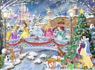Disney Princess Christmas (RB14778-6), a 500 piece Ravensburger jigsaw puzzle.