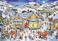 Which One's Santa (Limited Edition) (RB19773-6), a 1000 piece jigsaw puzzle by Ravensburger. Click to view this jigsaw puzzle.