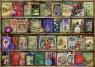 The Christmas Library (RB19801-6), a 1000 piece Ravensburger jigsaw puzzle.
