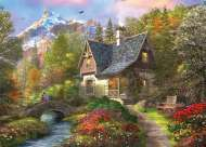 Mountain Retreat (HOL770038), a 1000 piece Holdson jigsaw puzzle.
